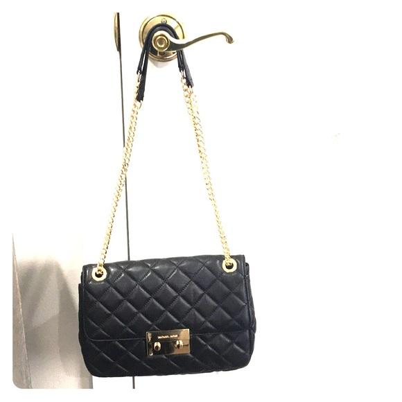 3777306e31077b Michael Kors Bags   Mk Sloan Large Quiltedleather Shoulder Bag ...